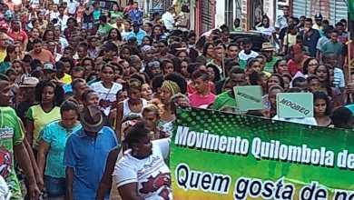 Foto de Segunda marcha das Comunidades Quilombolas em Bequimão-MA