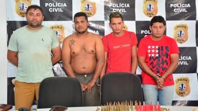 Foto de Quadrilha de assaltantes é presa no Maranhão