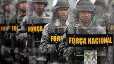 Foto de Força Nacional começa a atuar no Ceará