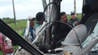 Foto de Acidente deixa 5 feridos entre Viana e Vitória do Mearim-MA