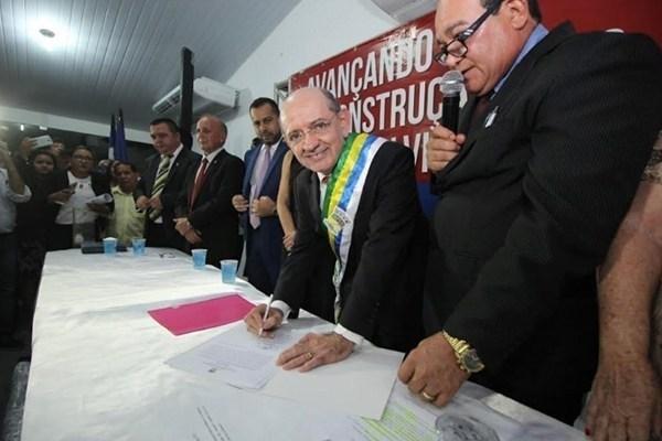 """Após Luís Fernando """"arregar"""", Eudes Sampaio assume prefeitura de ..."""