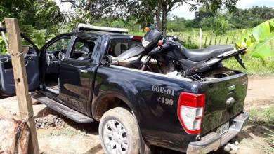 Foto de Moto roubada em Bequimão é recuperada