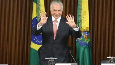 Foto de Temer deixou prédio da PF no Rio e está em casa