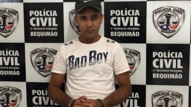 Foto de Polícia Civil prende homem por tráfico de drogas em Bequimão-MA