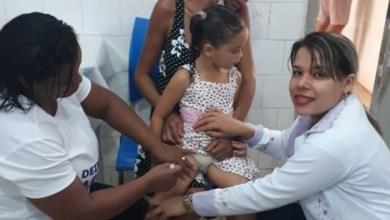 Foto de Bequimão já atinge quase 50% da meta vacinal