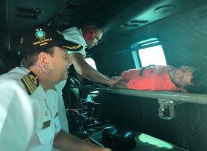 Foto de Pescador nadou quase 20h até ser resgatado em alto mar