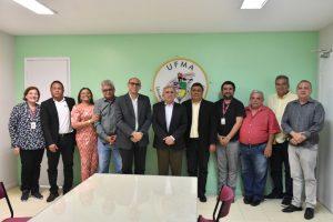 Foto de João Martins se reúne com reitor da UFMA Natalino Salgado