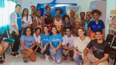 Foto de Thaynara OG prestigia VII Semana do Bebê Quilombola em Bequimão
