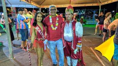 Foto de Entrega da chave da cidade abre o carnaval 2020 em Bequimão-MA