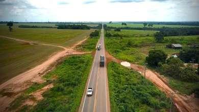 Foto de Bolsonaro inaugura Rodovia construída pelo PT