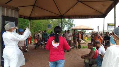Foto de Profissionais de Saúde de Bequimão visitam canteiro de obra da Ponte Bequimão/Central-MA