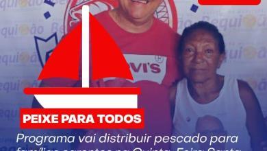 Foto de Para manter a tradição da Semana Santa, Prefeitura de Bequimão vai entregar peixes