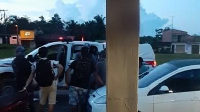 Foto de Guarda Municipal e Polícia Militar fecham bar na orla marítima de Bequimão