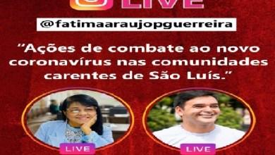 Photo of Fátima Araújo realizará LIVE nesta quarta (13) com o secretário Rubens Jr