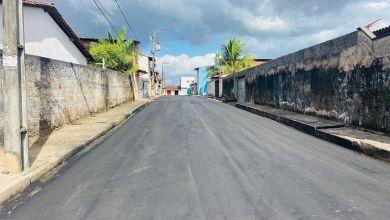 Foto de Semosp continua asfaltando ruas nos bairros Santo Antônio e Pirapora