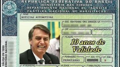 Photo of Carteira de Habilitação terá validade de 10 anos