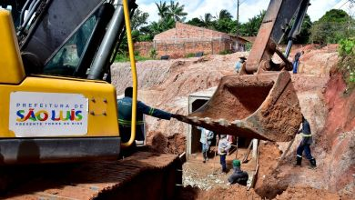 Photo of Obras de drenagem são executadas pela Prefeitura de São Luís-MA