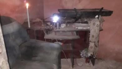 Foto de Raio destrói residência em Bequimão-MA