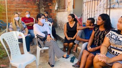 Foto de Vereadora Fátima Araújo participa de reunião na zona rural de São Luís