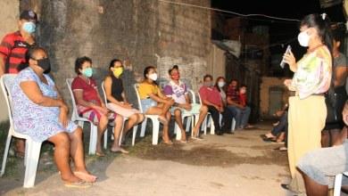 Photo of Fátima Araújo reúne com moradores do Residencial João Alberto