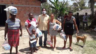 Foto de Prefeitura de Bequimão entrega 2,5 toneladas de alimentos para famílias quilombolas
