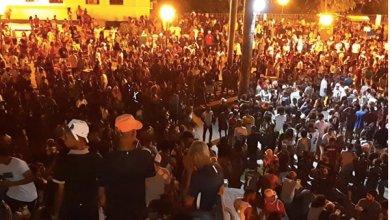 Foto de Centro Histórico de São Luís superlotado na noite desta sexta-feira (14)