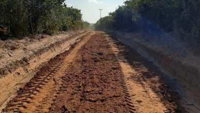 Foto de Prefeitura de Alcântara inicia empiçarramento da estrada de Peri-Açú