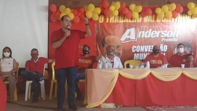 Foto de Alcântara: Anderson Wilker é o candidato a prefeito e Ivan Ferreira, o vice