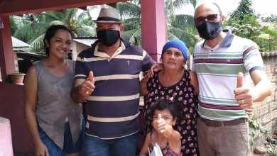 Foto de João Martins visita lideranças na zona rural de Bequimão-MA