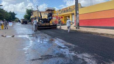 Foto de Fátima Araújo solicita asfalto para bairros e Semosp atende pedido