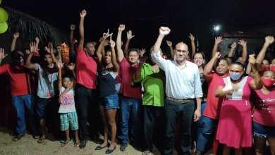 Foto de BEQUIMÃO-MA: João Martins reúne com moradores do quilombo Conceição