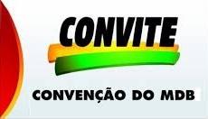 Foto de Bequimão: MDB realizará convenção nesta terça-feira, dia 15