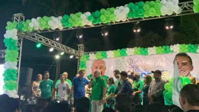 Foto de Convenção homologa candidatura de Francisco Rovélio à Prefeitura de São Mateus-MA