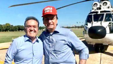 Foto de Bolsonaro vem ao Maranhão visitar obras de Lula e Michel Temer