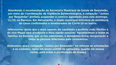 """Foto de Coligação """"Juntos por Bequimão"""" suspende Comício em Barroso"""
