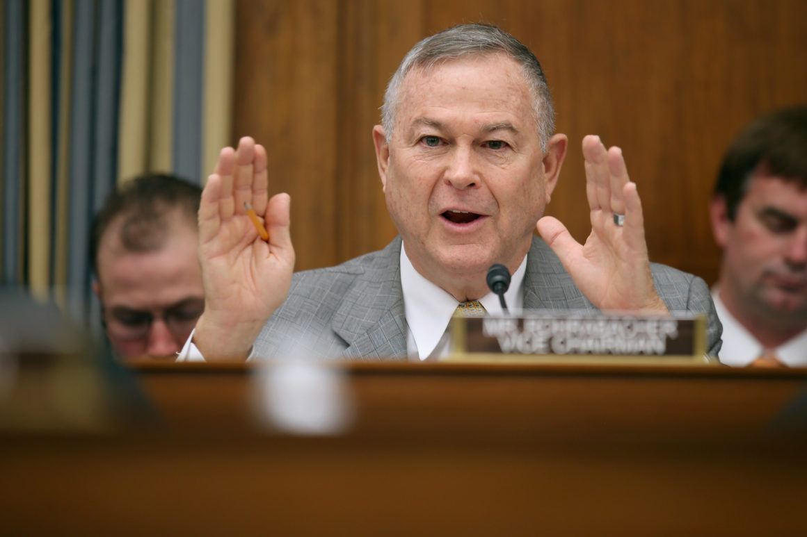 Image result for Images of Dana Rohrabacher in front seat at House Foreign Relations hearing on June 14, 2016