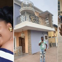 Recently Married Filmaker, Okiki Afolayan Shows Off His New Mansion