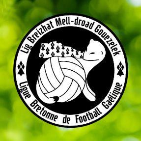 Brittany GAA - Lig Breizhat Mell-droad Gouezelek - Ligue Bretonne de Football Gaelique Logo