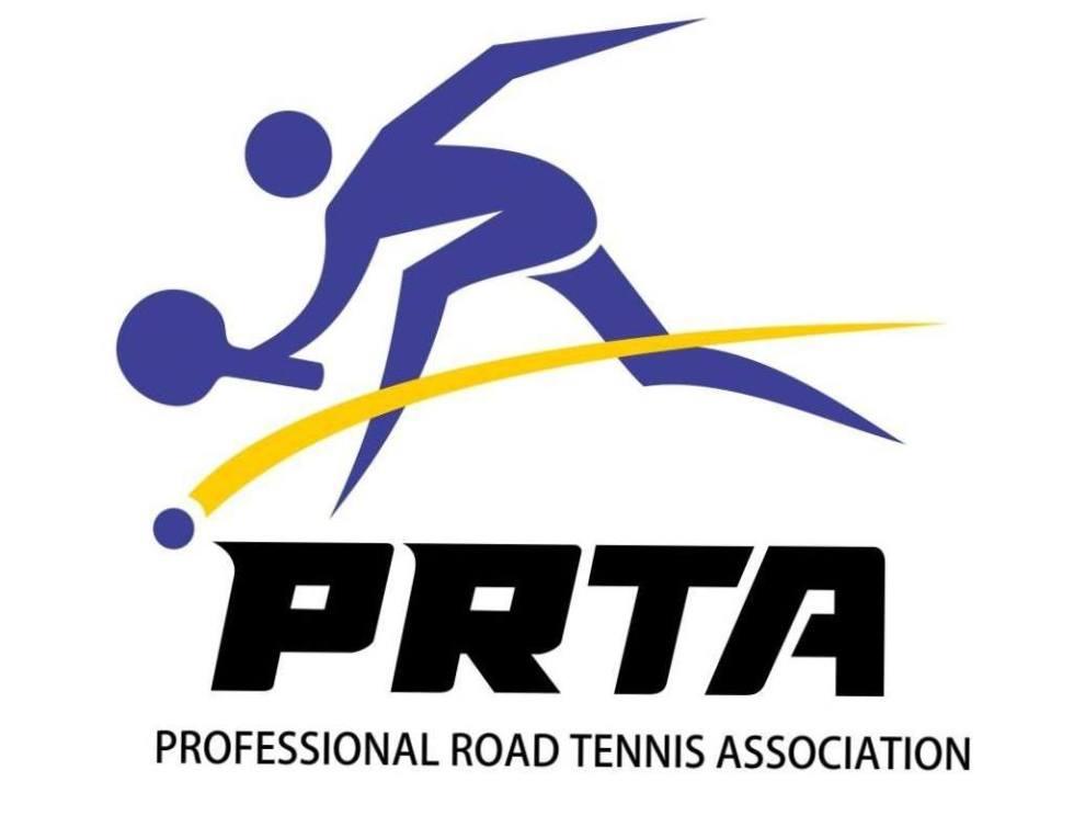 Professional Road Tennis Association Logo