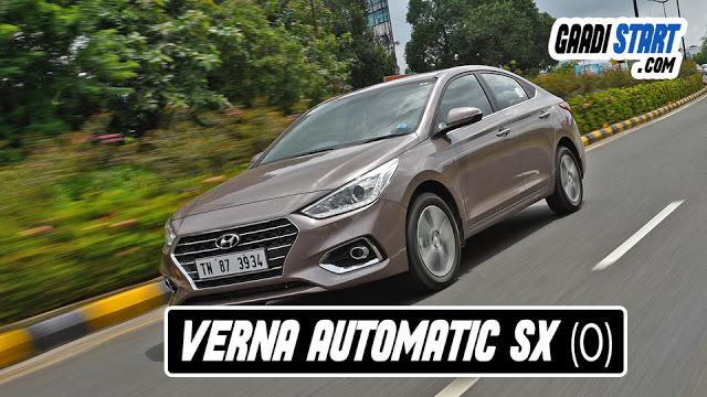 Hyundai Verna Automatic Ownership
