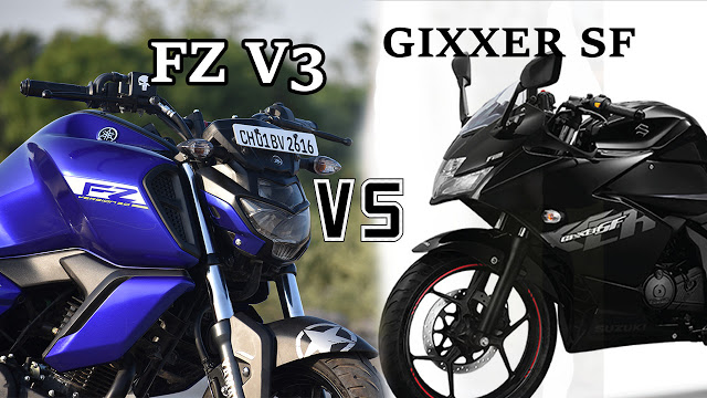 FZ VS GIXXER