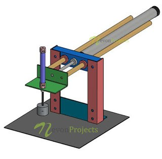 Pneumatic Powered Metal Pick and Place Arm