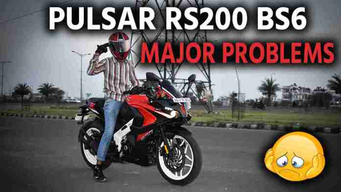 Pulsar RS200 Problems