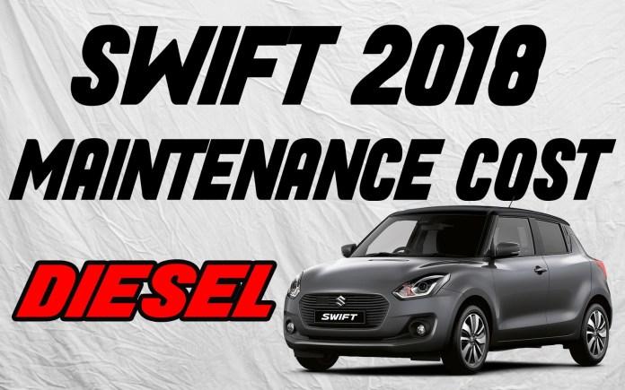 swift maintenance cost diesel