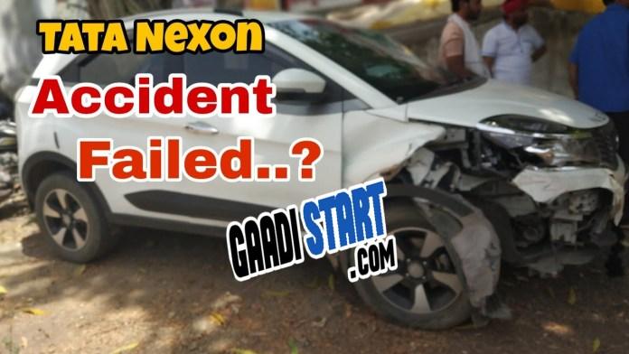 tata nexon crash