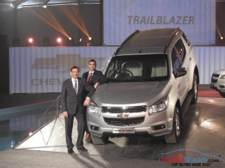 Chevrolet TrailBlazer Launched India price