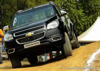 Chevrolet Trailblazer Launched in India-11