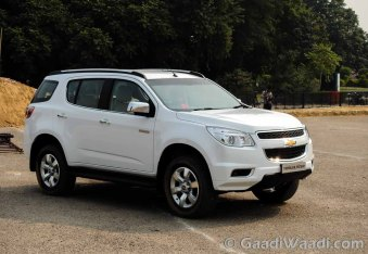 Chevrolet Trailblazer Launched in India-17