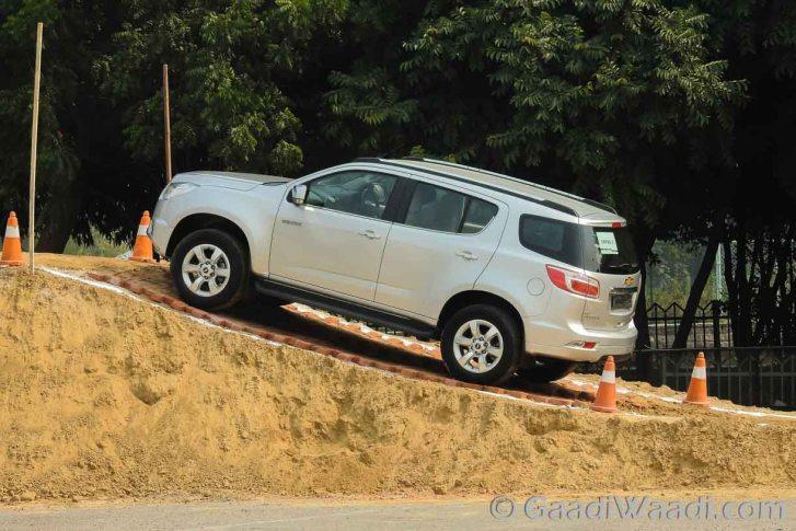 Chevrolet Trailblazer in India-6