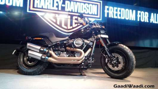 2018 Harley Davidson Fat Bob Launched In India 5